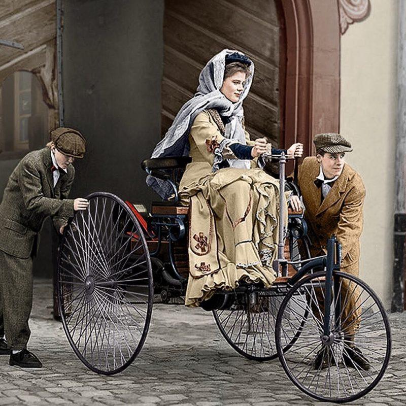 πρώτη γυναίκα οδηγός