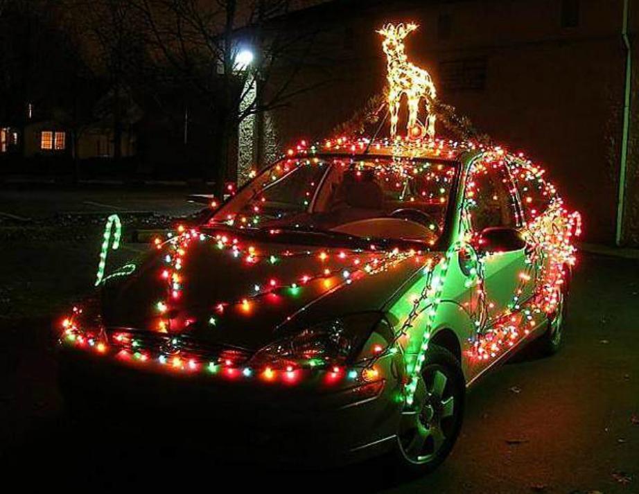 χριστουγεννιάτικοι στολισμοί αυτοκινήτων